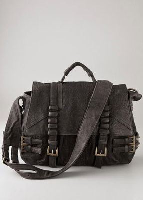 Pour La Victoire Lennon Tattered Leather Satchel