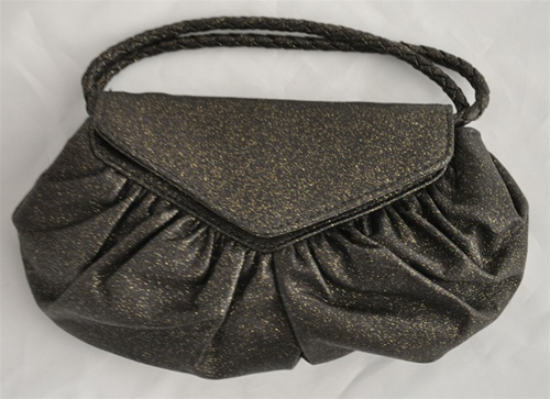 Win it Lauren Merkin Diana Clutch in black from The Guiltless Purse and Handbag du Jour