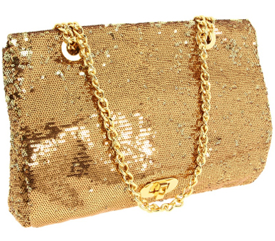 Badgley-Mischka-Kelly-Sequin-Flap-Clutch