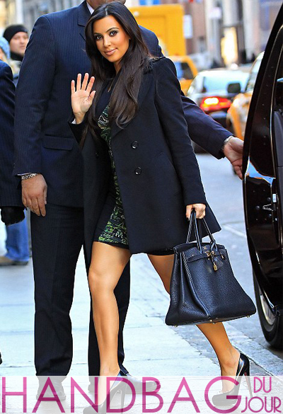 birkin handbags for sale - There's Kim's Birkin bag again - Handbag du Jour | Handbag du Jour ...
