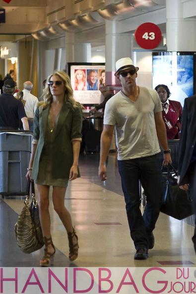 LeAnn-Rimes-Eddie-Cibrian-Diane-von-Furstenberg-Stephanie-bag-in-LAX airport heading to Cabo San Lucas Mexico