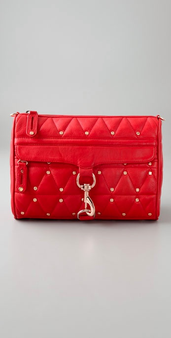 Rebecca Minkoff Quilted Morning After Clutch strapless