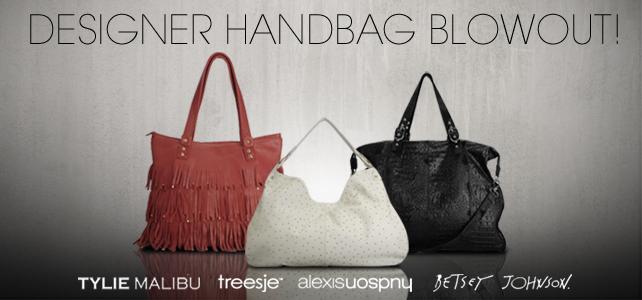 designer handbag blowout