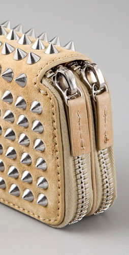 3.1 Phillip Lim Berry Wristlet with Studs close-up