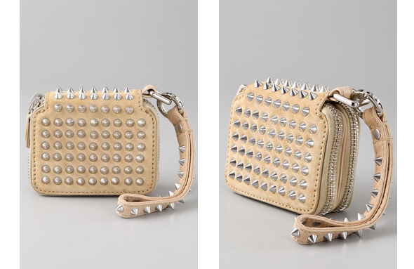 3.1 Phillip Lim Berry Wristlet with Studs