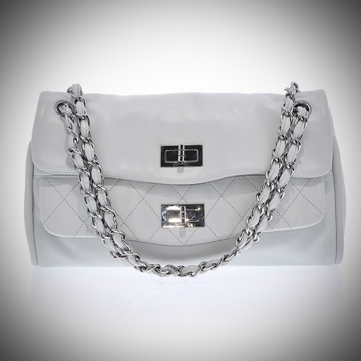 Chanel Mint Mademoiselle Double Flap Bag