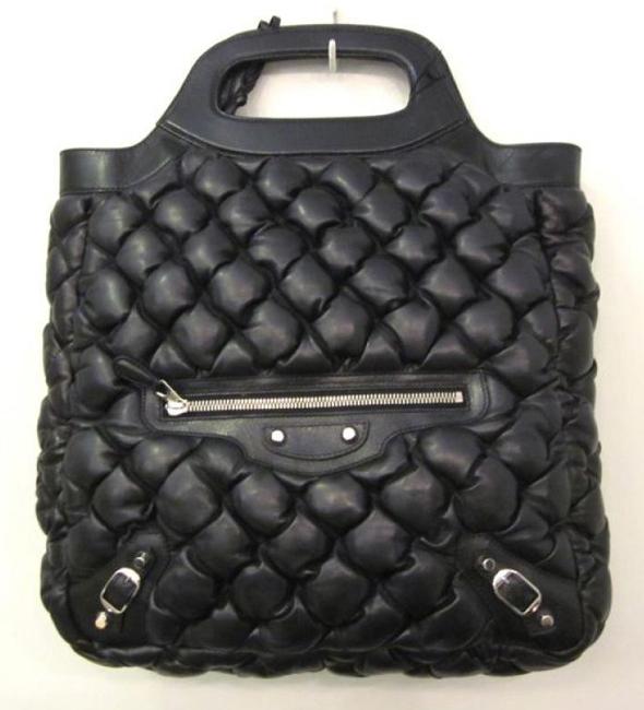 0912682cf86b51 Bag lust: Balenciaga Lux Lambskin Quilted Matelassé Tote Bag ...