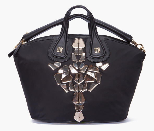 Givenchy Nightingale Nylon Tote on sale at ssense