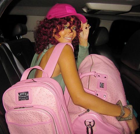 Rihanna-Louis-Stewart-Collection-pink-ostrich-bags