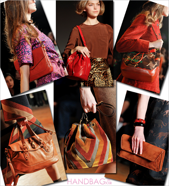 Marc by Marc Jacobs Fall Winter 2011 runway handbags
