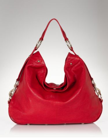 Rebecca-Minkoff-Nikki-Classic-Red Leather-Hobo