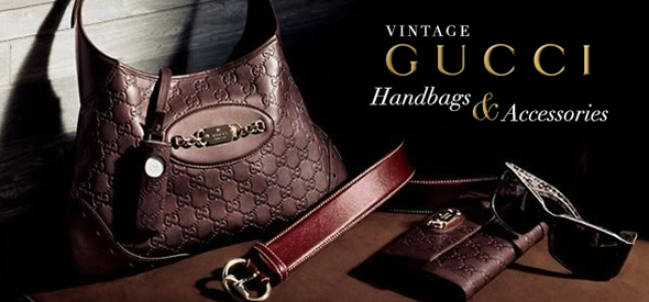 gucci vintage handbags accessories