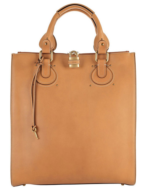 Chloé Aurore Leather Tote