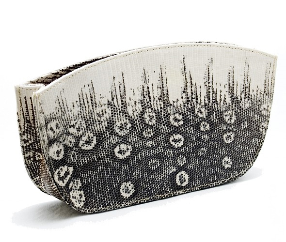 Fossati-Venice-Evening-Clutch-in-Ombre-Lizard