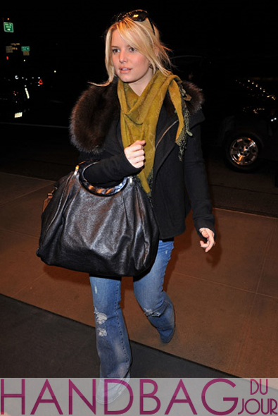 Jessica Simpson with the Marni Balloon Handbag
