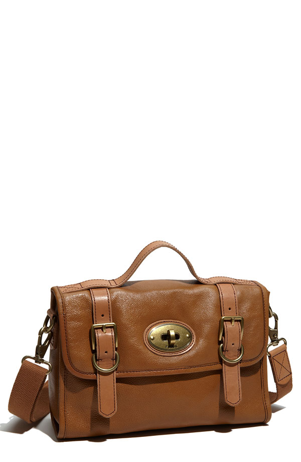 Fossil 'Vintage Reissue II' Leather Flap Satchel