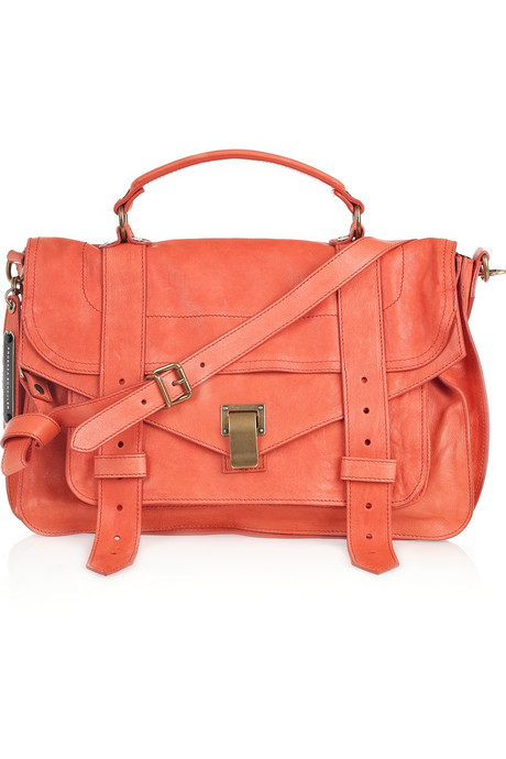 Proenza-Schouler PS1 Medium leather satchel