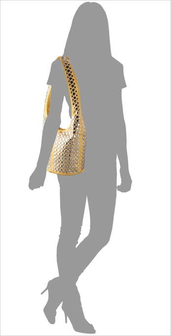 Rebecca Minkoff Studded Vamp Bag model