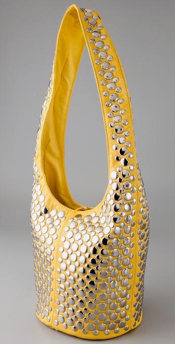 Rebecca Minkoff Studded Vamp Bag side