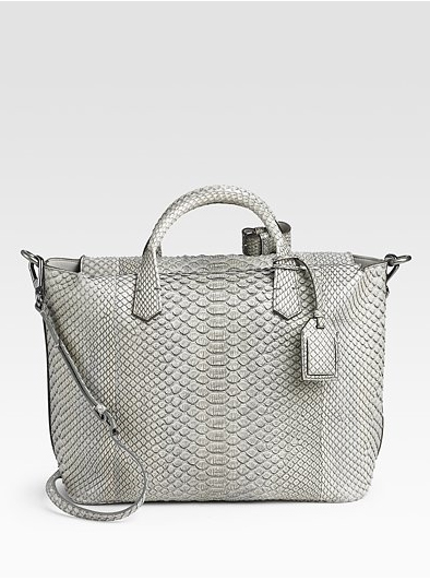Reed-Krakoff-Python-Gym-Top-Handle-Bag