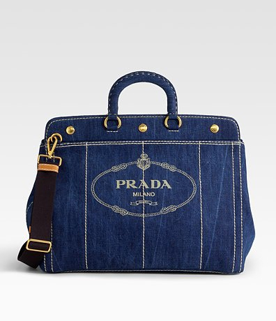 Prada-Logo-Denim-Top-Handle-Bag