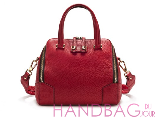 Furla-for-Saks-Fifth-Avenue-leather-satchel bag