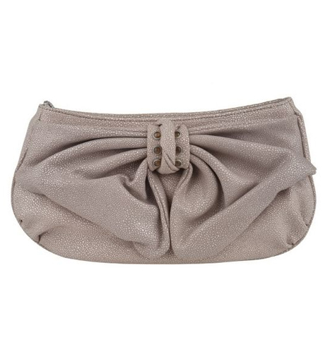 Judith-Ripka-Lafayette-Stingray-Embossed-Bow-Clutch QVC