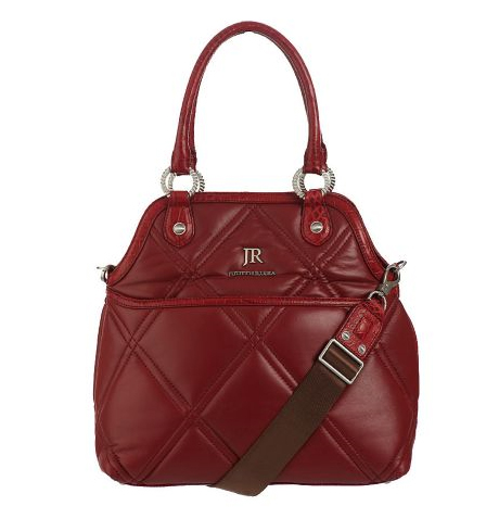 Judith-Ripka-Thompson-Quilted-Nappa-Leather-Tote-w-Shoulder-Strap QVC