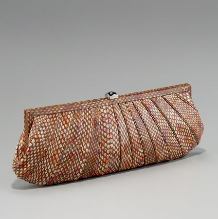 Kotur Fane Pleated Ayers Clutch