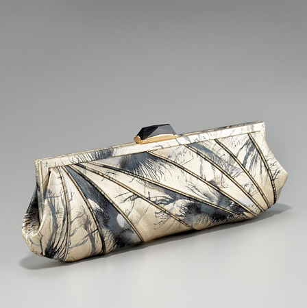 Kotur Leather Asymmetric Clutch