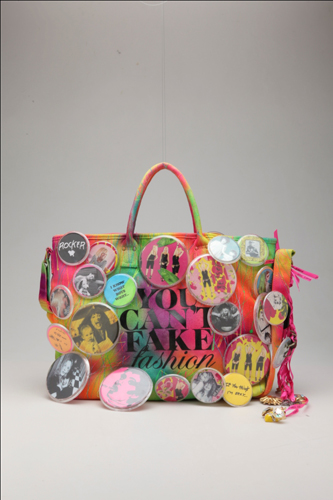 Betsey Johnson Ebay And Cfda You Can T Fake Fashion Collection Of 50 Customized Designer Bags