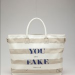 Cynthia Rowley eBay and CFDA YOU CAN'T FAKE FASHION Collection of 50 Customized Designer Bags