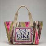 Nanette Lepore eBay and CFDA YOU CAN'T FAKE FASHION Collection of 50 Customized Designer Bags