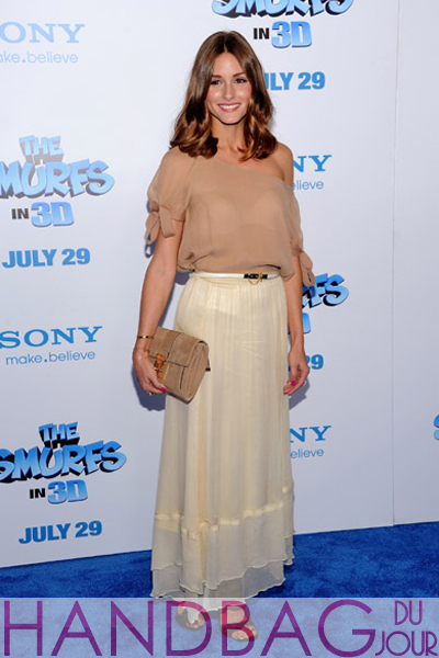 Olivia-Palermo-attends-the-world-premiere-of-The-Smurfs-at-the-Ziegfeld-Theater-on-July-24,-2011-in-New-York-City Reiss clutch and lila belt