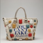 Tahari eBay and CFDA YOU CAN'T FAKE FASHION Collection of 50 Customized Designer Bags