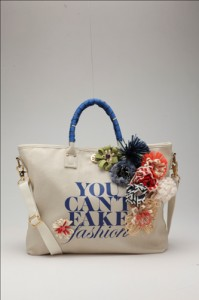 Tory Burch eBay and CFDA YOU CAN'T FAKE FASHION Collection of 50 Customized Designer Bags