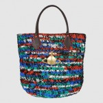 Vivienne Westwood Ethical Fashion Africa Project Large Fabric Crochet Plastic Shopper Bag