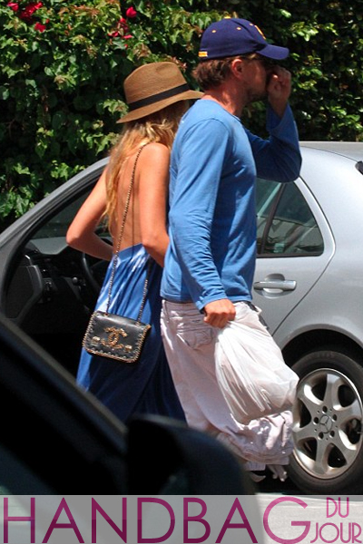 Blake-Lively-and-Leonardo-DiCaprio-leaving-the-set-of-her-film-Savages Chanel bag