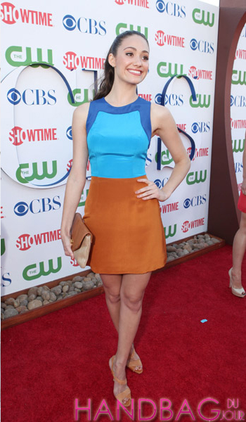 Emmy Rossum at Showtime's 2011 Summer TCA Party at The Pagoda on August 3, 2011 in Beverly Hills, California