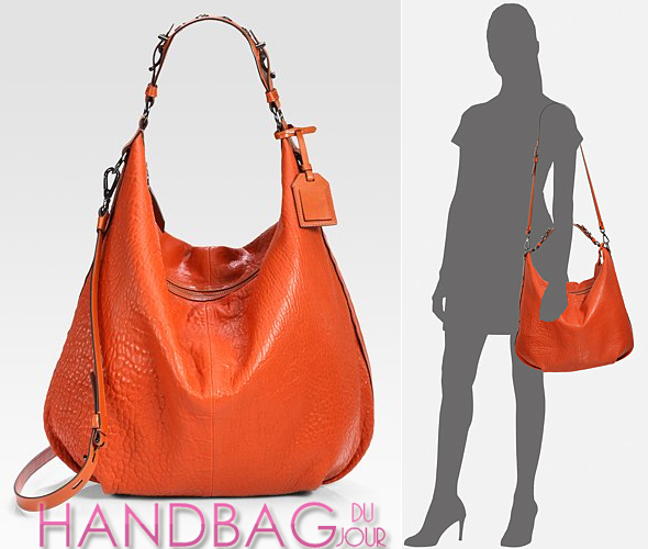 Reed-Krakoff--nappa leather-Grommet-Cadet-I-Shoulder-Bag-orange