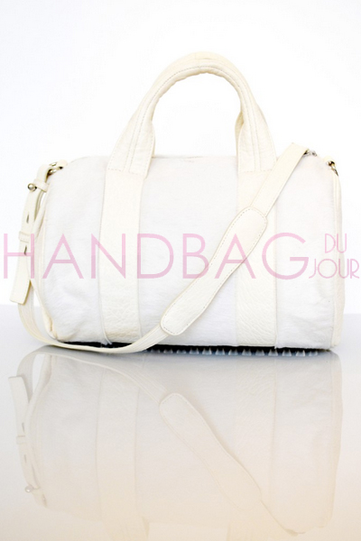 Alexander Wang White Pony Rocco Duffel bag