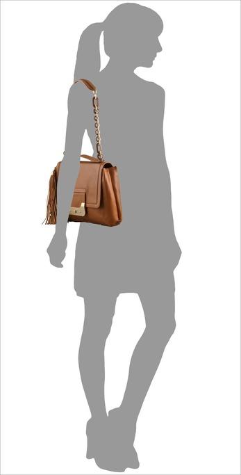 Diane von Furstenberg Harper Daybag, Large on model