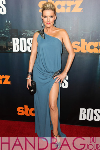 Actress-Kathleen-Robertson-Starz-series-Boss-season-premiere-at-ArcLight-Cinemas-Hollywood,-California.