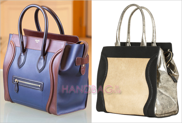 Designer-inspired or knockoff: Céline Leather Luggage Tote vs ...