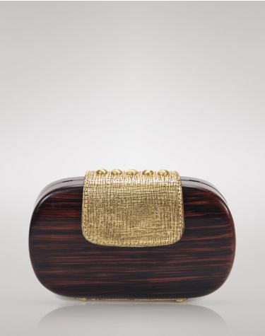 Kooba Bethenny Wood Clutch - Handbag du Jour