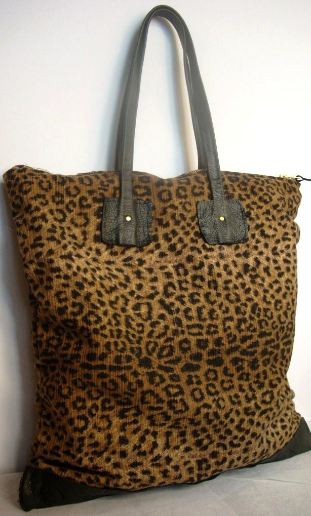 NKHenry Kimmy Leopard Print tote bag