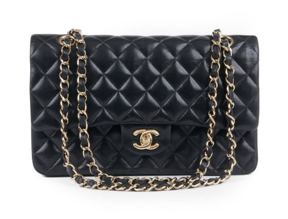 What-Goes-Around-Comes-Around-Vintage-Chanel-Classic-Black-Coco-Bag