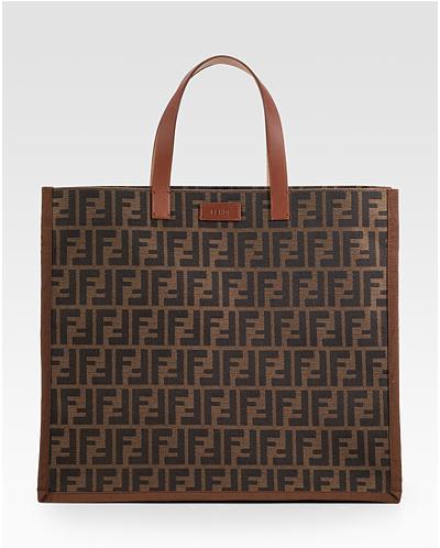 Fendi-Zucca-Tote handbag trends - square tote bags