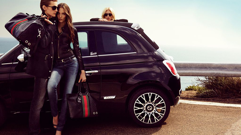 Fiat 500 by Gucci ads