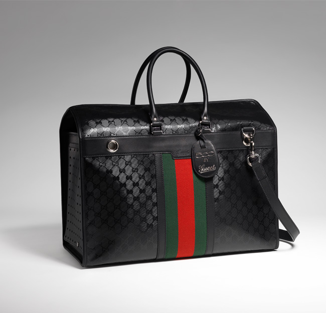 Gucci Fiat 500 Caryall - the perfect overnighter in exclusive GG Imprimè fabric